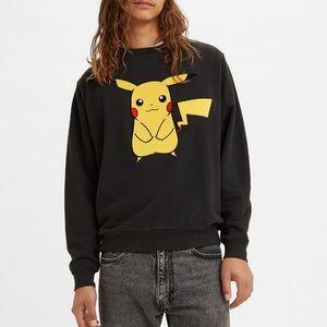Levi's X Pokémon Pikachu Unisex Sweatshirt Sz: M